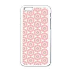 Cute Seamless Tile Pattern Gifts Apple Iphone 6 White Enamel Case by creativemom
