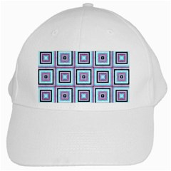 Cute Seamless Tile Pattern Gifts White Cap by creativemom