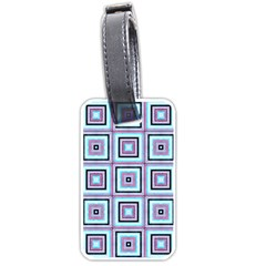 Cute Seamless Tile Pattern Gifts Luggage Tags (two Sides)