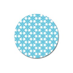Cute Seamless Tile Pattern Gifts Magnet 3  (round) by creativemom