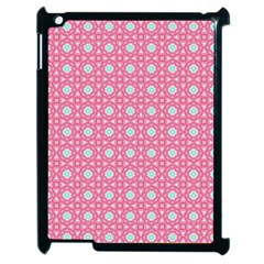 Cute Seamless Tile Pattern Gifts Apple Ipad 2 Case (black) by creativemom