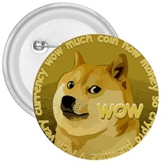 Dogecoin 3  Buttons by dogestore