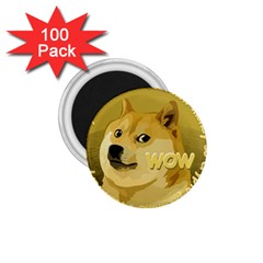 Dogecoin 1.75  Magnets (100 pack)  by dogestore