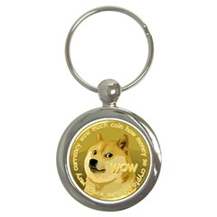 Dogecoin Key Chains (round)  by dogestore