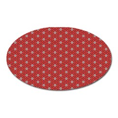 Cute Seamless Tile Pattern Gifts Oval Magnet by creativemom