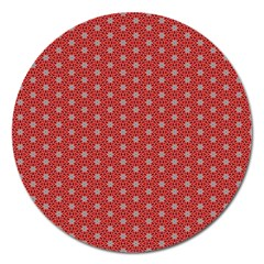 Cute Seamless Tile Pattern Gifts Magnet 5  (round) by creativemom