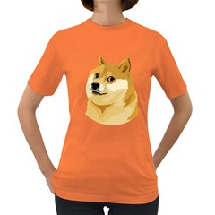 Dogecoin Women s Dark T-Shirt by dogestore