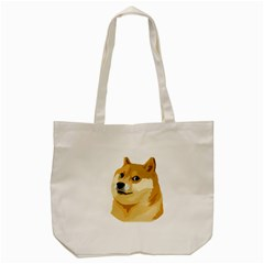 Dogecoin Tote Bag (cream)  by dogestore