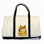 Dogecoin Two Tone Tote Bag