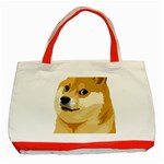 Dogecoin Classic Tote Bag (Red)