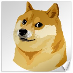 Dogecoin Canvas 16  X 16   by dogestore