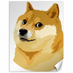 Dogecoin Canvas 18  X 24   by dogestore