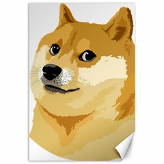 Dogecoin Canvas 24  X 36  by dogestore
