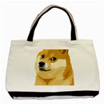 Dogecoin Basic Tote Bag (Two Sides)