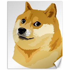 Dogecoin Canvas 11  X 14   by dogestore