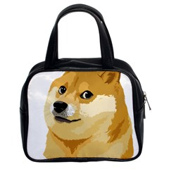 Dogecoin Classic Handbags (2 Sides) by dogestore