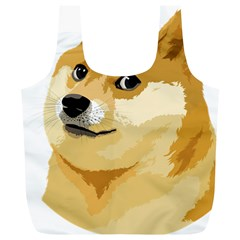 Dogecoin Full Print Recycle Bags (L)  by dogestore
