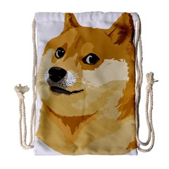 Dogecoin Drawstring Bag (Large) by dogestore