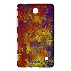 Abstract in Gold, Blue, and Red Samsung Galaxy Tab 4 (8 ) Hardshell Case  by theunrulyartist