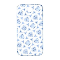 Sweet Doodle Pattern Blue Samsung Galaxy S4 I9500/i9505  Hardshell Back Case by ImpressiveMoments