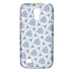 Sweet Doodle Pattern Blue Galaxy S4 Mini by ImpressiveMoments