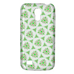 Sweet Doodle Pattern Green Galaxy S4 Mini by ImpressiveMoments