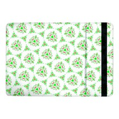Sweet Doodle Pattern Green Samsung Galaxy Tab Pro 10 1  Flip Case by ImpressiveMoments