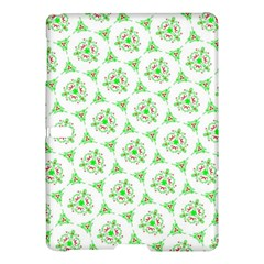 Sweet Doodle Pattern Green Samsung Galaxy Tab S (10 5 ) Hardshell Case  by ImpressiveMoments