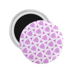Sweet Doodle Pattern Pink 2 25  Magnets by ImpressiveMoments
