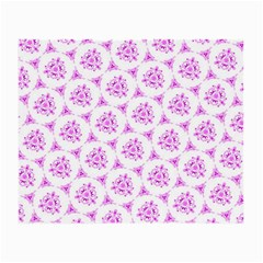 Sweet Doodle Pattern Pink Small Glasses Cloth by ImpressiveMoments