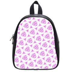 Sweet Doodle Pattern Pink School Bags (small)  by ImpressiveMoments