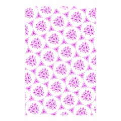 Sweet Doodle Pattern Pink Shower Curtain 48  X 72  (small)  by ImpressiveMoments