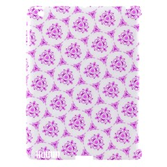 Sweet Doodle Pattern Pink Apple Ipad 3/4 Hardshell Case (compatible With Smart Cover) by ImpressiveMoments