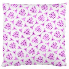 Sweet Doodle Pattern Pink Large Cushion Cases (one Side)  by ImpressiveMoments