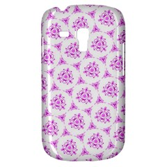 Sweet Doodle Pattern Pink Samsung Galaxy S3 Mini I8190 Hardshell Case by ImpressiveMoments