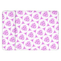Sweet Doodle Pattern Pink Samsung Galaxy Tab 8 9  P7300 Flip Case by ImpressiveMoments