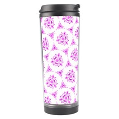 Sweet Doodle Pattern Pink Travel Tumblers by ImpressiveMoments