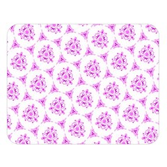 Sweet Doodle Pattern Pink Double Sided Flano Blanket (large)  by ImpressiveMoments