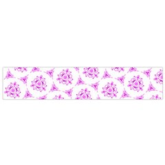 Sweet Doodle Pattern Pink Flano Scarf (small)  by ImpressiveMoments