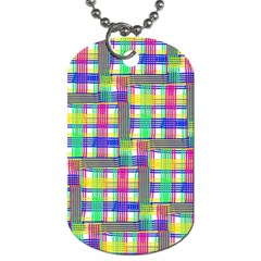 Doodle Pattern Freedom  Dog Tag (two Sides) by ImpressiveMoments