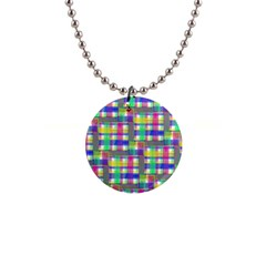 Doodle Pattern Freedom  Button Necklaces