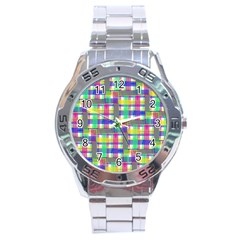 Doodle Pattern Freedom  Stainless Steel Men s Watch by ImpressiveMoments
