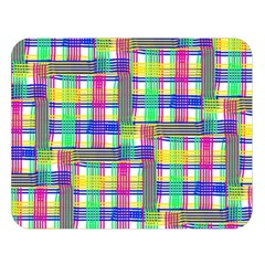 Doodle Pattern Freedom  Double Sided Flano Blanket (large)  by ImpressiveMoments