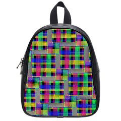 Doodle Pattern Freedom Black School Bags (small)  by ImpressiveMoments