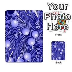 Doodle Fun Blue Multi Purpose Cards (rectangle)  by ImpressiveMoments