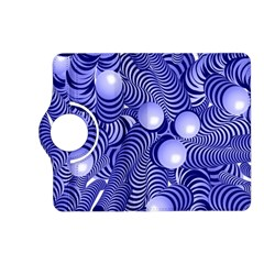 Doodle Fun Blue Kindle Fire HD (2013) Flip 360 Case by ImpressiveMoments