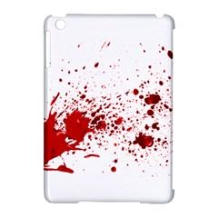 Blood Splatter 1 Apple iPad Mini Hardshell Case (Compatible with Smart Cover) by TailWags