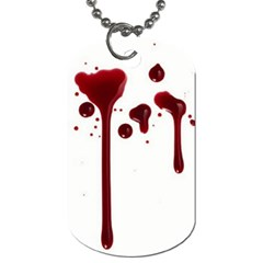 Blood Splatter 4 Dog Tag (two Sides) by TailWags