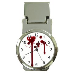 Blood Splatter 4 Money Clip Watches by TailWags