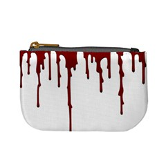 Blood Splatter 5 Mini Coin Purses by TailWags